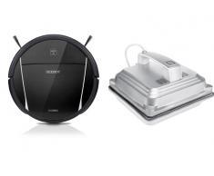 Pack Robot Limpiacristales Ecovacs Winbot W830 + Robot Aspirador Ecovacs Deebot DM85