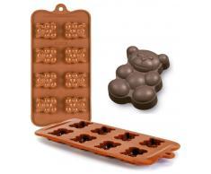 Ibili Molde Bombon Silicona Chocolate Ositos