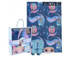 Manta, Calcetines y Antifaz Frozen 79469
