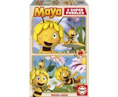 Educa Puzzle La Abeja Maya 2x16 Piezas