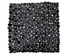 Wenko Alfombra ducha Paradise Negro 54x54 cm. Acrilico