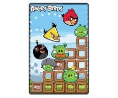 Manta Polar de Angry Birds Destruction 125 x 150