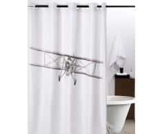 Cortina de baño sistema mágico avioneta 180 x 200