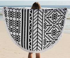 Toalla grande redonda Polyester