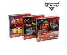 Set Puzzle y Dominó Cars 11135 (3 uds)