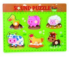 Legler Puzzle Para Insertar Con Sonidos De Animales