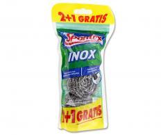 Spontex Estropajo Inox Metálico (2+1uds)