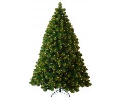 Item International Arbol Navidad Pvc Metal 250 Leds 454 Ramas