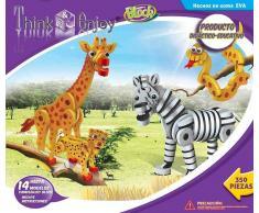 Juego creativo Animales de la sabana - Think enjoy