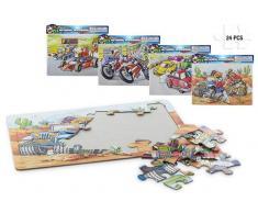 Puzzle Super Racers 24 piezas