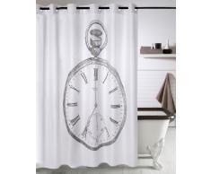Cortina de baño sistema mágico reloj 180 x 180