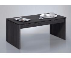 Mesa de diseño elevable salón en gris ceniza