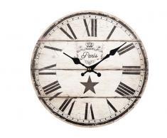Reloj Vintage Evol 33cm Beige