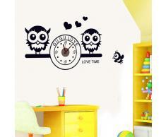 Superstudio Vinilo adhesivo Owl Clock (180 gr)