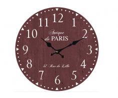 Reloj Vintage Camon 33cm Granate números naturales