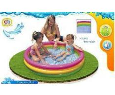 Colorbaby Piscina Hinchable 3 Aros Sunset 299L