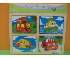 Andreu Toys Puzzle - Transportes