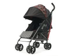 Silla de paseo Summer Infant UME One Stroller BoHo Patchwork (Rojo)