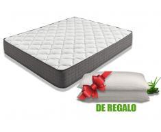Colchón Visco Biotherapy + Pack de 2 Almohadas Aloe Vera Extraconfort Visco de ¡REGALO!