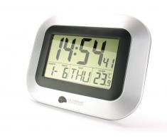 Lacrosse technology Reloj de pared Hora y fecha radio controlada Alarma con Snooze