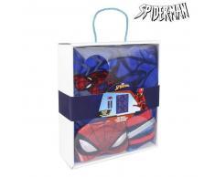 Manta, Calcetines y Antifaz Spiderman 79490