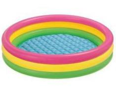Colorbaby Piscina Hinchable 3 Aros Sunset 136L
