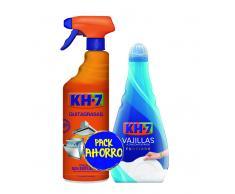 KH7 Limpiador Quitagrasas Spray 750ml + Vajillas Ultraconcentrado a Mano 400ml