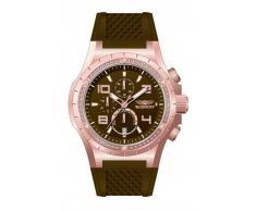 Reloj Bobroff mujer caucho marrón