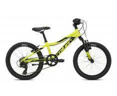 Bicicleta Mountain Bike Infantil con suspensión Verde-Negro