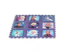 Alfombra puzzle eva 9 piezas 90x90 cm Frozen