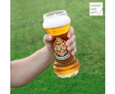 Vaso de Cerveza No Pain No Beer Gadget and Gifts