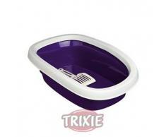 Trixie Bandeja Carlo 1,Borde-Pala,31×14×43cm,Violet-Crema