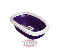 Trixie Bandeja Carlo 2,Borde-Pala,38×17×58cm,Violet-Crema