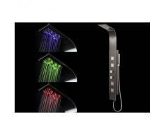 Columna de ducha termostática luces LED SANAGA - Miliboo