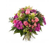Interflora Ramo con rosas y orquideas - Toscana