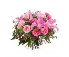 Interflora Ramo variado con rosas y lilium - Dominica