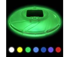 Bestway Lámpara solar flotante para piscina, 58111