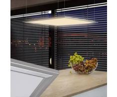 VidaXL Lámpara de techo LED, 60 x cm, 40 W, Blanco cálido