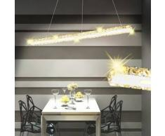 VidaXL Lámpara de Techo Cristal con Larga Tira LED 13 W