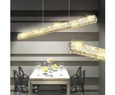 VidaXL Lámpara de Techo Cristal con Larga Tira LED 10 W