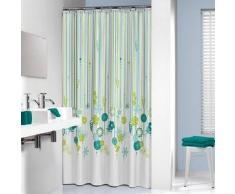 Sealskin cortina de ducha 180 cm modelo Fiesta 235221326 (Verde)