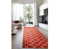 Benuta Alfombra de pasillo Arabesque Naranja 80x290 cm