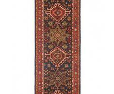 Brink & Campman Alfombra de pasillo de lana Emir Azul 70x250 cm