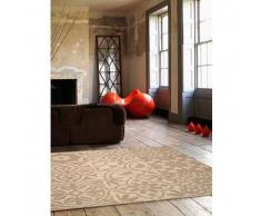 Benuta Alfombra Patchwork-Mosaico Beige 160x230 cm