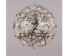 Lámpara de techo LED de diseño metal cromado - Carolina