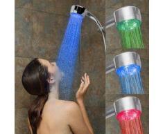 subtel Temperatura Controlada LED Cabeza de ducha