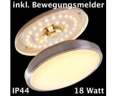 Wutach Lámpara de techo LED Blanca, 1 bombilla - 1380 Lumen - Moderno/vivienda Juvenil/Básico - Zona interior - 3000 Kelvin - 2 - 4 días laborables .