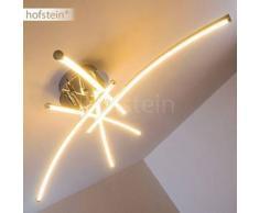 Hampden Lámpara de techo LED Cromo, 5 bombillas - 3250 Lumen - Diseño - Zona interior - 3000 Kelvin - 2 - 4 días laborables .