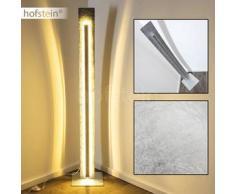 Peninsula Lámpara de pie LED Plata, 1 bombilla - 2400 Lumen - Diseño - Zona interior - 3000 Kelvin - 2 - 4 días laborables .
