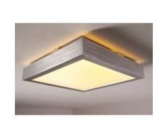 Sora Lámpara de techo LED Blanca, 1 bombilla - 880 Lumen - Diseño - Zona interior - 3000 Kelvin - 2 - 4 días laborables .
